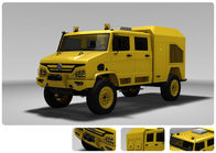 135 KW Emergency Power Supply Vehicle Provide The Electrical Safeguard