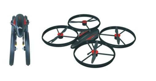 Real - Time Reconnaissance Drone HZ Warhawk - X80 Efficient Brushless Motor